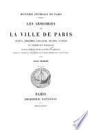 Les armoiries de la ville de Paris