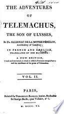 Les aventures de Télémaque, en fr. et en angl., tr. par Des Maizeaux