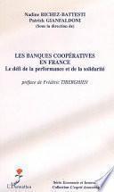 Les banques coopératives en France
