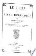 Les bibles et les initiateurs religieux de l'humanité