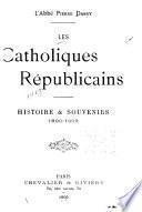 Les catholiques républicains