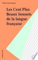 Les Cent Plus Beaux Sonnets de la langue française
