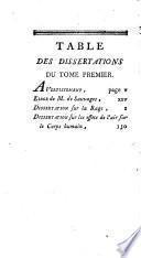 Les Chefs-d'oeuvres de Monsieur de Sauvages ou Recueil de dissertations ... auxquelles on a joint La Nourrice marâtre du Chevalier Linné