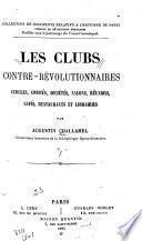 Les clubs contre-révolutionnaires