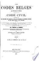Les codes belges annotés