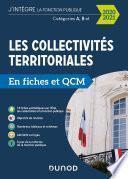 Les collectivités territoriales en fiches et QCM - 2020