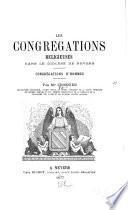 Les congregations religieuses dans le diocèse de Nevers