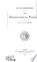 Les décorations du Panthéon