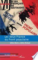 Les deux France du Front populaire
