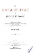 Les Ecossais en France, les Français en Écosse
