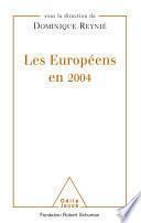 Les Européens en 2004