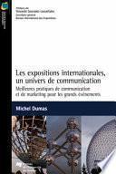 Les expositions internationales : un univers de communication