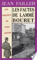 Les fautes de Lammé Bouret