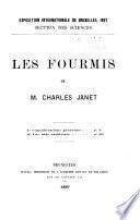 Les fourmis de M. Charles Janet