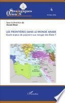 Les frontières dans le monde arabe