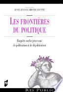 Les frontières du politique