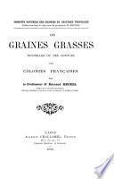 Les graines grasses nouvelles ou peu connues des colonies françaises