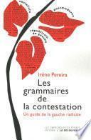 Les grammaires de la contestation