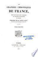 Les grandes chroniques de France