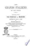 Les grands italiens au 19. siècle