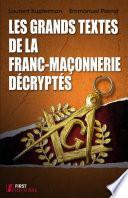 Les grands textes de la franc-maçonnerie décryptés