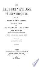 Les hallucinations télépathiques par Gurney, Myers et Podmore