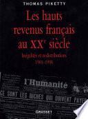 Les hauts revenus en France au XXème siècle