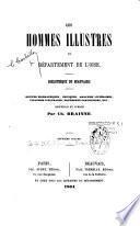 Les hommes illustres du département de l'Oise