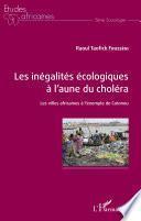 Les inégalités écologiques à l'aune du choléra