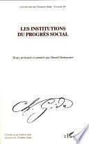 Les institutions du progrès social