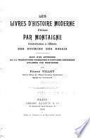 Les livres d'histoire moderne utilisés
