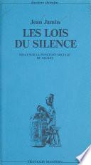 Les lois du silence