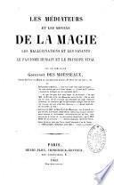 Les médiateurs et les moyens de la magie