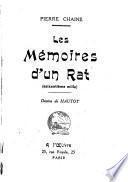 Les mémoires d'un rat