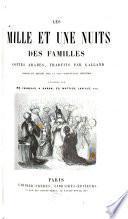Les mille et une nuits des familles, contes arabes