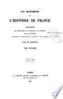 Les monuments de l'histoire de France