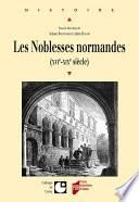 Les noblesses normandes