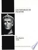 Les notables de Palmyre