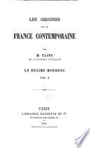 Les origines de la France contemporaine: La révolution: t.1 L'anarchie. 8 éd. 1878. t.2 La conquête jacobine. 5.éd. 1881. t.3. Le gouvernement révolutionnaire. 6 é. 1885