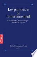 Les Paradoxes de l'environnement