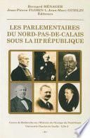 Les parlementaires du Nord-Pas-de-Calais sous la IIIe République