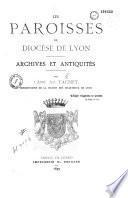 Les paroisses du diocèse de Lyon