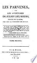 Les parvenus ou les aventures de Julien Delmours ecrites par lui-meme