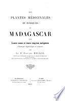 Les plantes médicinales et toxiques de Madagascar