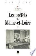Les préfets de Maine-et-Loire