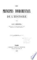 Les principes fondamentaux de l'histoire