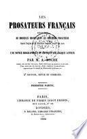 Les prosateurs français