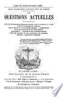Les Questions actuelles