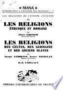 Les religions étrusque et romaine
