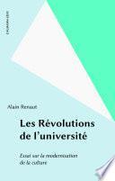 Les Révolutions de l'université